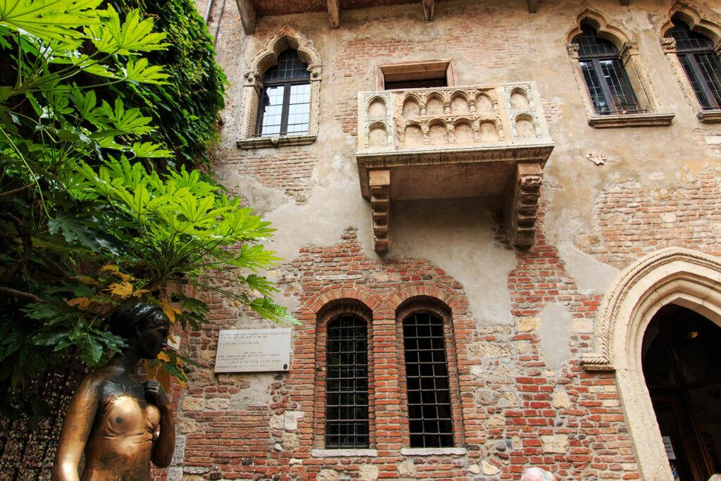 Casa de Julieta de frente