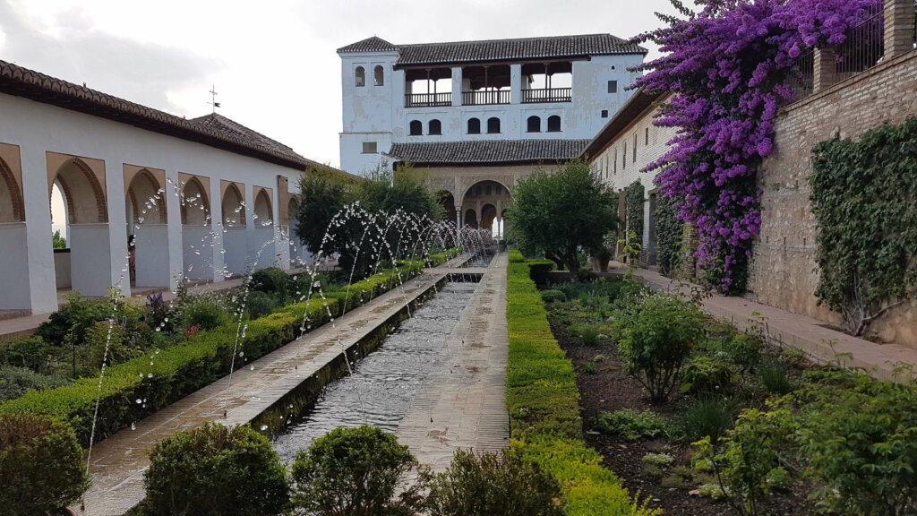 Jardins do Castelo de Alhambra