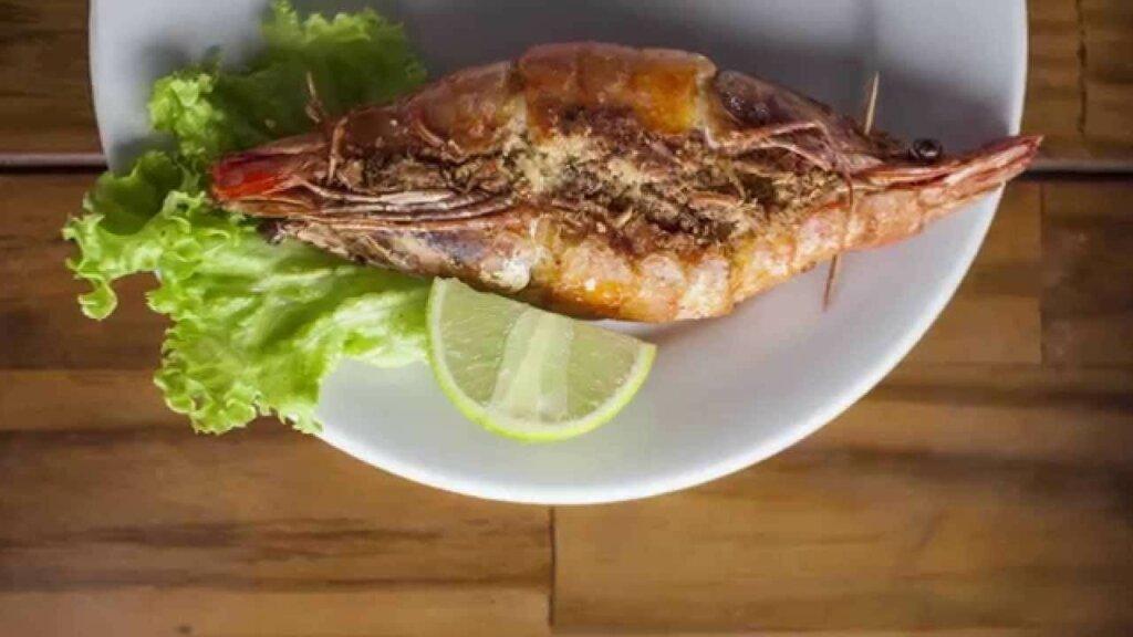 prato de camarão casadinho