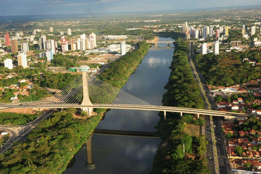 vista geral de cidade de Teresina