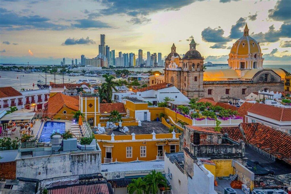 vista panorâmica de Cartagena