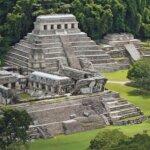 pirâmides das antigas civilizações do México